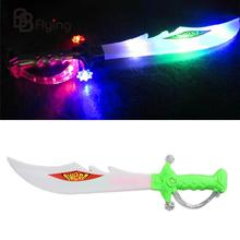 Colorful LED Electric Flashing Light Up Sword Sound Dragon Kids Children Toy
