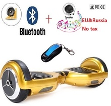 6.5 inch self balancing scooter electric skateboard hoverboard bluetooth 2 wheel smart balance skate oxboard - LiLian Outdoor entertainment Store store