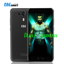 THL Knight 1 Smartphone Dual Back Camera 13MP Fingerprint Android 7.0 MTK6750 Octa cora 4G 5.5 inch 3G RAM 32G ROM Mobile phone(China)