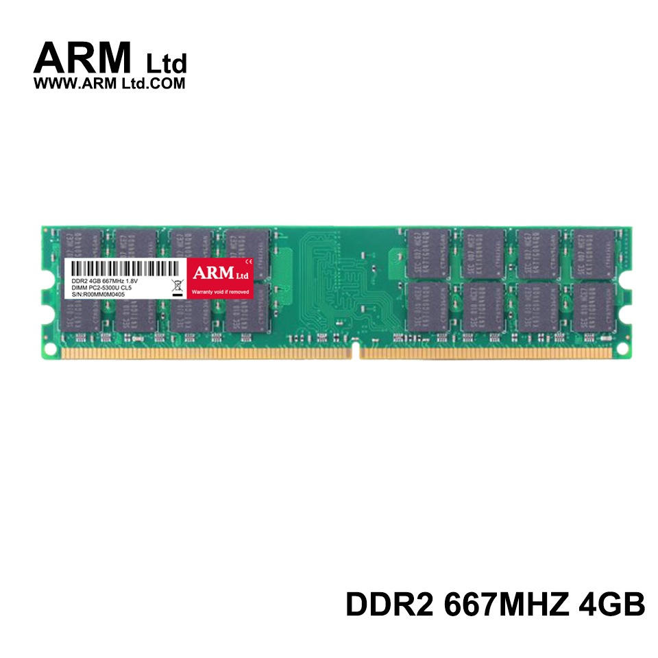 ARM Ltd DDR2 4GB 667Mhz 800Mhz For AMD Memory CL5-CL6 1.8V DIMM RAM 800 2G 4GB 800 Only used AM2 Motherboard Lifetime Warranty(China)