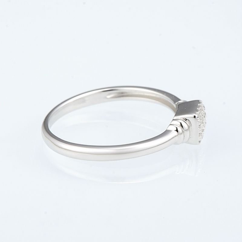R307091WCZSL925-SV3-Silver Ring