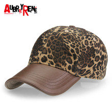 [AUBREYRENE] 2017 New Leopard Design Baseball Cap Women Fashion Winter Hats for Women Golf Polo Hat Z-3892()