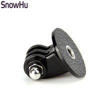 SnowHu for GoPro Accessories Mini Monopod Tripod Holder Case Mount Adapter for Go Pro Hero 5 4 3+ SJ4000 Xiaomi yi Camera TP03(China)