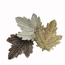 H:HYDE Broche Mujer Pin Maple Leaf Brooch Gold Color Brooches Pins Exquisite Collar For Women Dance Party Accessories