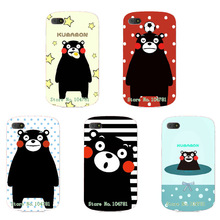 Hot Style Cute Kumnmon Bear Cartoon Case For Blackberry Q10 Coque Colorful Funda Skin Cover Case