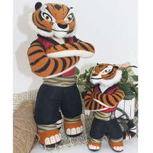 New Cute Cartoon Kung Fu Kungfu Panda Master Tigress & Po Plush Toys  Stuffed Animal Doll Kids Toy For Children Birthday Gifts