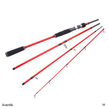 Special Sale! Aventik 7ft 8-12Ib 4SEC High Module Carbon Fiber Travelling Spinning Rod Casting Rod Baitcasting Pole