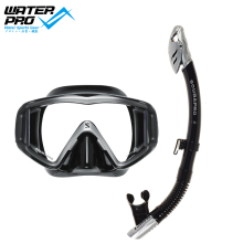 Scubapro CRYSTAL VU Mask and Spectra Dry Snorkel Set