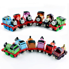 Thomas and Friends-6PCS/Lot Mike Lady Locomotive Diecast Metal Toy Alloy Trains Tank Engine Trackmaster Toys Percy Duke Rosie(China)