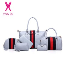 YANXI Factory Outlet Fashion Lady Tote Shoulder Day Clutches Designer Purse And Handbags Leather Women Quality PU Composite Bag