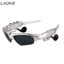 LAOKE Three sets of bluetooth glasses lens Wireless Bluetooth 4.1 Headset Telephone Driving Sunglasses/mp3 Eyes Glasses