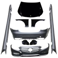 W212 E63 styling PP auto bumper body kits for Mercedes Benz standard W212 2014
