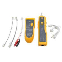 JW-360 LAN Network Cable Tester Telephone Wire Tracker for UTP STP Cat5 Cat5E Cat6 Cat6E RJ45 RJ11 Line Finding Sequence Testing