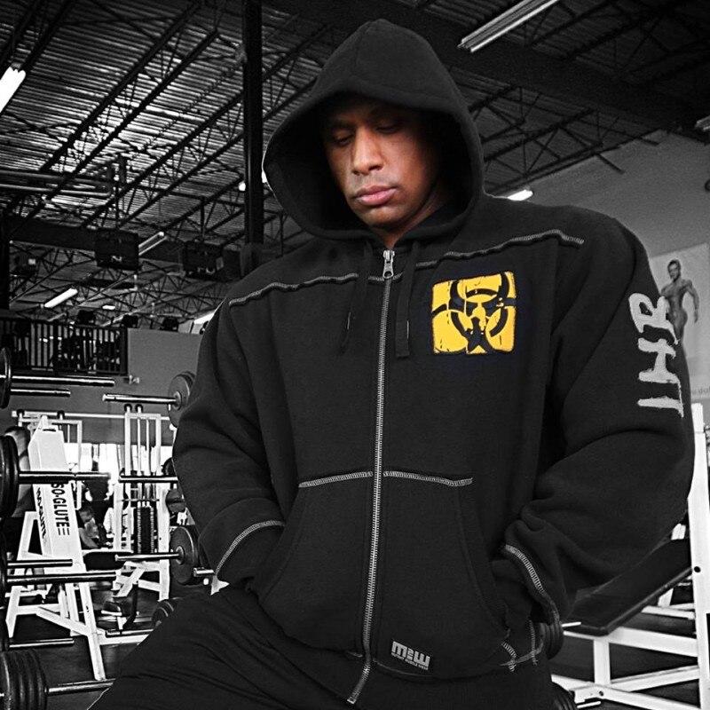 New 2016 Mens Elastic Slim Fitness Ninja Hoodie Shirt Brand Clothing Casual Hood