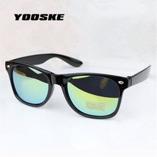 YOOSKE 5 Color 2016 New Fashion Hot Sale Sunglasses Women  Men Brand Designer UV400 Sun Glasses Retro Mirrored