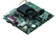 2Lan Slim Intel 1037U Mini ITX Motherboard(China)