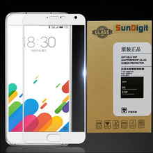 SunDigit Full Cover Tempered Glass For Meizu M3 Note M3S mini MAX Pro 6 MX6 U10 U20 Screen Protector Printing Protective Film(China)