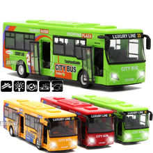 High simulation city bus , 1:32 alloy car models metal diecasts, toy vehicles, pull back  free shipping