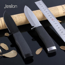 Jeslon 009 Fixed Blade Knife 420 Material Combat Knives Outdoor Camping Hiking Tactical Survival Hunting EDC Tools Rescue Knife