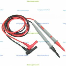 1Pair Universal Digital Multimeter Multi Meter Test Lead Probe Wire Pen Cable 1000V 10A