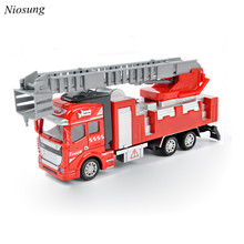 New 1:48 Back In The Toy Car The Fire Truck Toy Car Kids Children Birthday Present Free Shipping #CN1001(China)