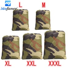 Universal 190T Camouflage Waterproof Motorcycle Cover Quad Vehicle Scooter Motorbike ATV Cover M L XL XXL XXXL(China)