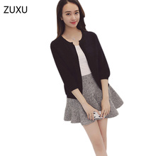 2017 Women Sweater In Spring And Autumn The New Korean Court All-Loose Light Cardigan Jacket Support(China)