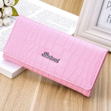 kimisohand 2016 hot sale cute Lady  Women Stone Pattern Coin Purse Long Wallet Card Holders Card Holder wallet bag gift free