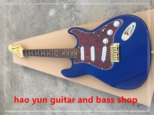 in stock blue electric guitar very popular in this year you will very like it real pic to show high quality(China)