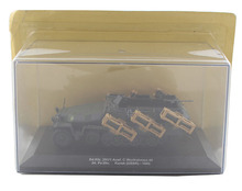 IXO 1/43 the German army Sdkfz.251 Semi tracked light armored vehicle model Alloy collection model Holiday gift(China)