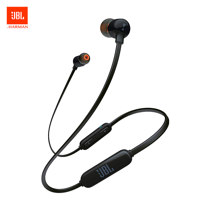 Original JBL T110 Wried / T110 BT Wireless Earphone In-ear Sport Run Bass Sound Headset For Smartphone Music In-ear Earphone(China)