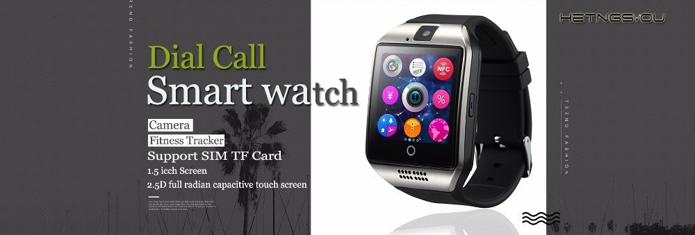 HETNGSYOU Business Smart watch Support Heart Rate Monitor 1.33 inch IPS Round Screen Bluetooth Sports SmartWatch For Android IOS