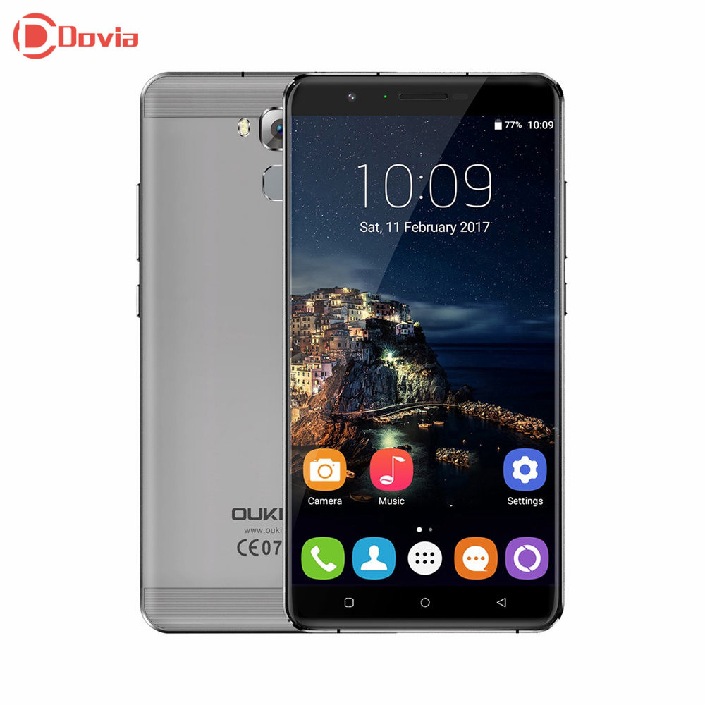 OUKITEL U16 Max 6.0 inch 4G Smartphone Android 7.0 MTK6753 Octa Core 1280*720 3GB+32GB 13MP 4000mAh Fingerprint ID Mobile Phone(China)