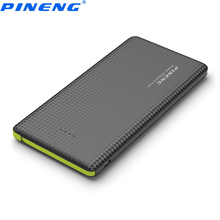 Genuine PINENG PN 951 10000mAh Portable Mobile Power Bank Battery Charger Built-In Charging Cable External Battery Charger