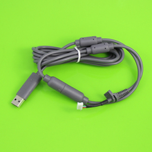 Black Grey 4Pin Wired Controller Interface Cable For Xbox 360 USB Breakaway Cable Lead Cord Adapter