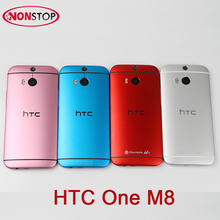 "Fashion Candy Color HTC One M8 Unlocked GSM/WCDMA/LTE Quad-core RAM 2GB Cell Phone HTC M8 5.0"" 3 Cameras Original HTC M8 Phone(China)"
