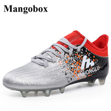 Mens Soccer Boots Gray/Blue Shoes Men Football New Arrival Football Cleats Cheap Soccer Turf Shoes Mens Football Shoes