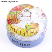 Grasse Fragrances Original Strong Oriental Flower Magic Solid Parfum Femme Protable Solid Perfumes,Body Perfume for Women