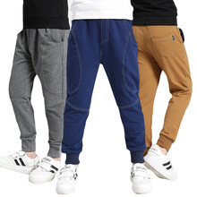 Autumn Winter Boys Pants Long Sports Pants Boys Sweatpants Children Trousers 5-9 Years kids Casual Cotton pants(China)