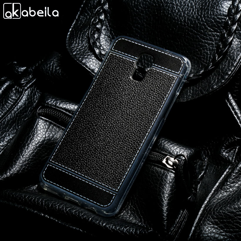 AKABEILA Phone Cover Cases LG X Screen F690 X View K500DS K500 K500N K500Y X-screen Cover Phone Bags Litchi Soft TPU