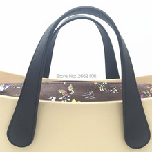 1 pair new 70 cm metal chain bag handles for O Bag for Ambag style EVA Silicon Bag Accessories 2017