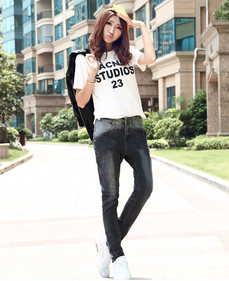2017 Loose Fake Zippers Direct Selling New American Apparel Woman On Sale Show Thin Stitching Quality Fashion Women Jeans D47 Одежда и ак�е��уары<br><br><br>Aliexpress