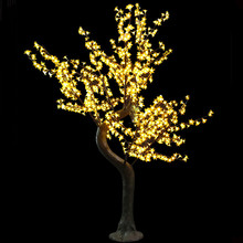led cherry tree/led cherry blossom tree light/led tree 1.8M high