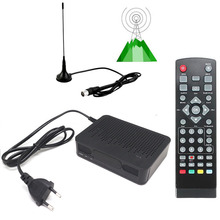 MSD7T01 DVB-T2 DVB-T FTA HD Digital Terrestrial CONVERTOR Tuner TV RECEIVER + Magnet Antenna 1080P Set Top BOX HDMI PVR Playback