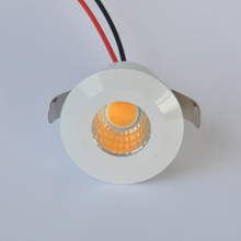 Mini 5w COB LED Downlight Square Under Cabinet Spot Light for Jewelry Display Ceiling Recessed Lamp 220v Round
