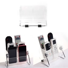 TV Remote Control Phone Key Pen Acrylic Organizer Storage Box Clear Stand Holder(China)