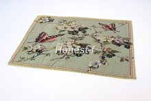 Jacquard Design Decor Elegant Butterfly Floral Placemat for Table,Dining,Kitchen