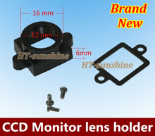 High Quality 10PCS/LOT Hole distance 22mm camera mirror seat CCD camera to trigger the mirror seat Free shipping(China)