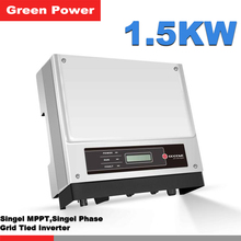 GW1500-NS Goodwe Power Inverter,1.5kw solar power inverter connected gird city sell electricity,Mc4 connect solar cell panel
