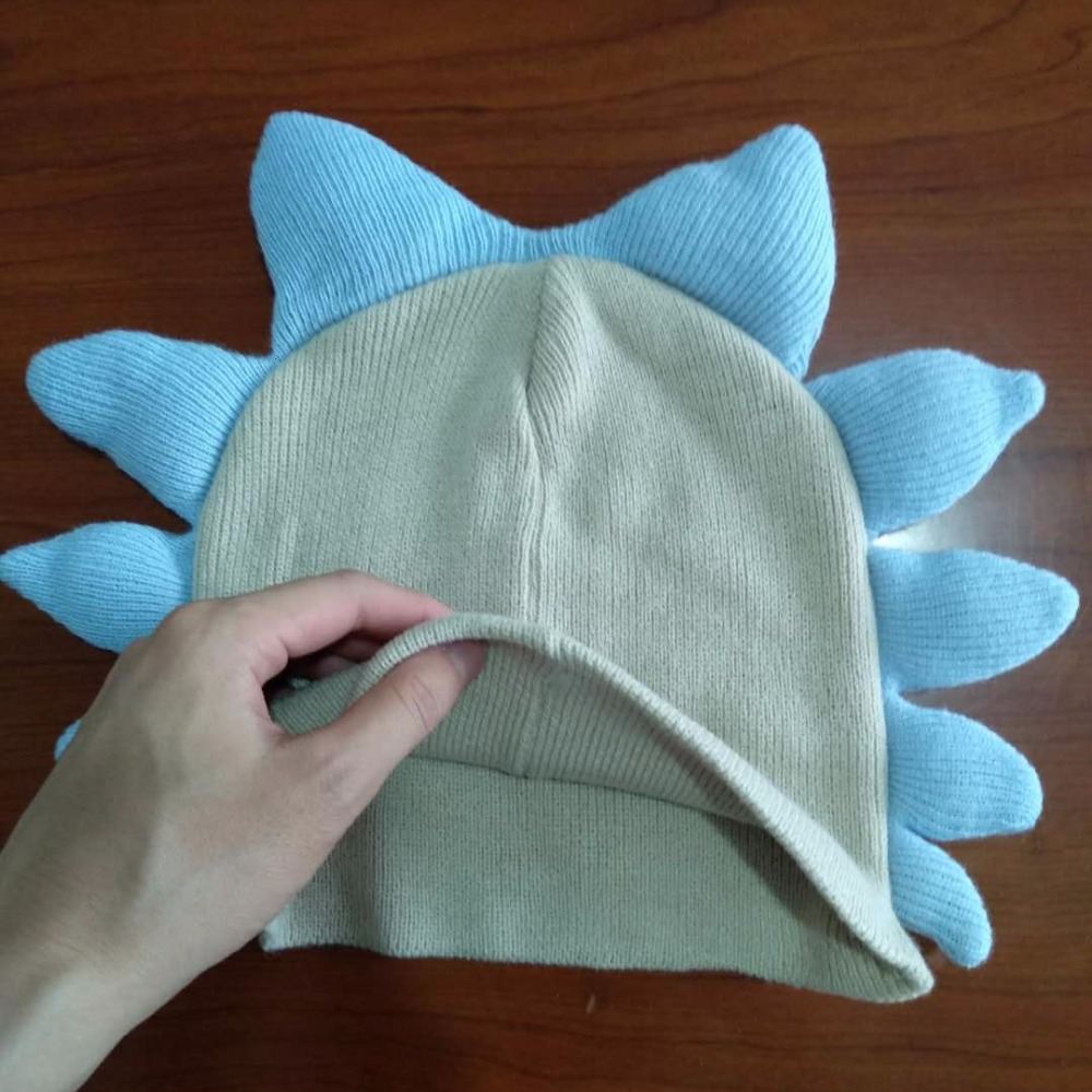 Anime Rick and Morty Knitted Beanie Cap